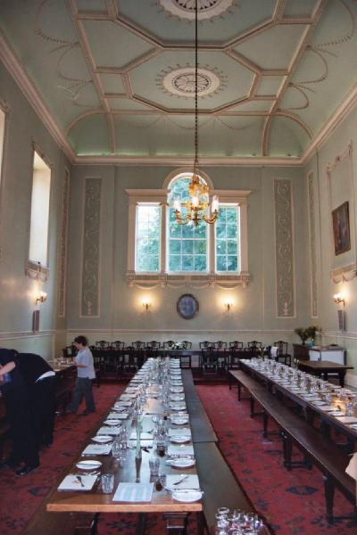 Dinner At An Oxford High Table Dwkcommentaries