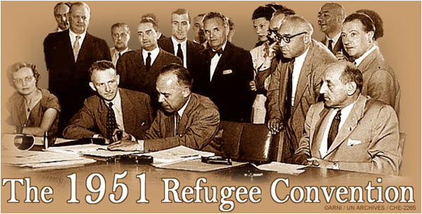 an overview of the 1951 convention relating to the status of refugees and the universal declaration  The 1951 convention relating to the status of refugees  articles 13 and 14 of  the universal declaration of human rights, which spell out, respectively, the.