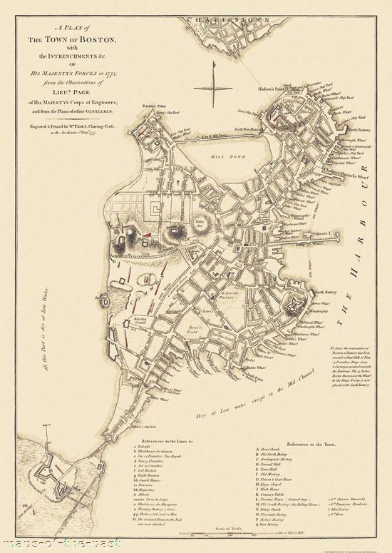 The American Revolutionary Wars Siege Of Boston April 19