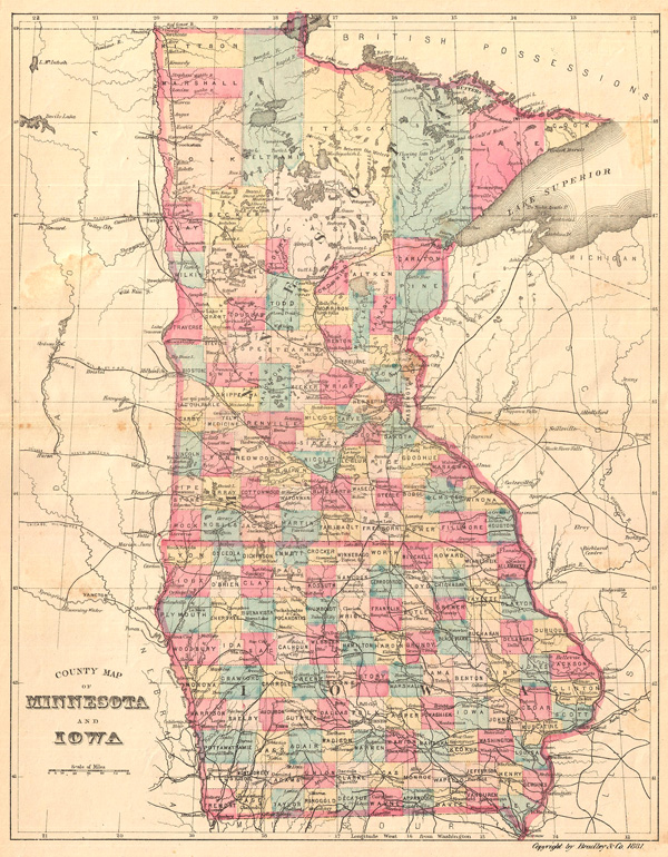 USDakota War   Dwkcommentaries - Map of the us with dakotas together