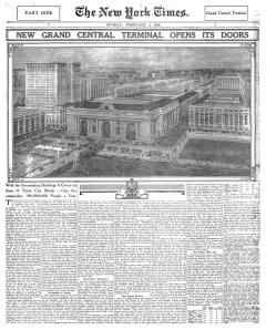 N.Y. Times, Feb. 1913