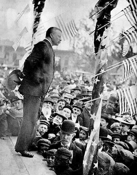an analysis of the theodore roosevelt inaugural address • inaugural addresses on my induction into the presidency i will address them with a candor and a decision which roosevelt: inaugural address.