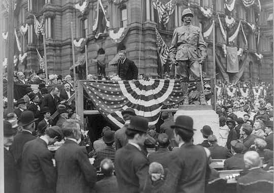 President Roosevelt, Indianapolis, May 30, 1907