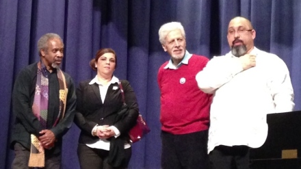 Prof. August Nimtz, Jr., Aurora Gonzalez, Frank Curbelo & Nachito