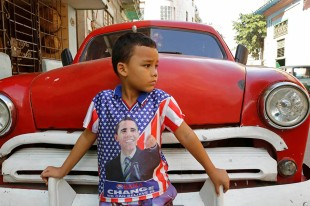 Cuban boy in Havana