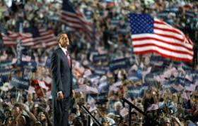 Barack Obama @ Democratic Party's National Convention 2008