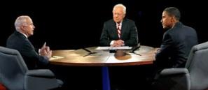 McCain, Bob Schieffer & Barack Obama Debate 2008