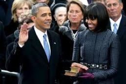 President Obama's Oath of Office, Jan. 2013