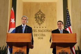 John Kerry & Bruno Rodriguez