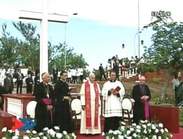 Francis at Holguin
