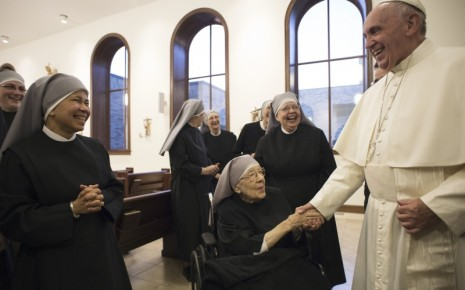 Pope Francis & Sisters of the Poor