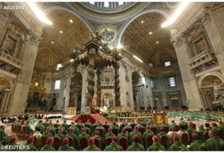 Mass @ St. Peter's Basilica